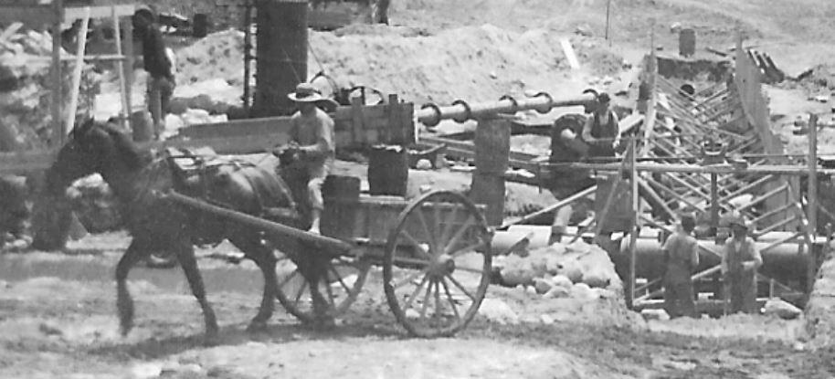 Close Up June 8, 1895 - Facing South