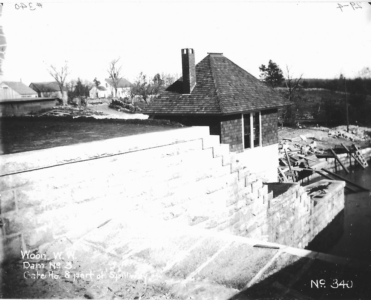 Gate House and Spillway