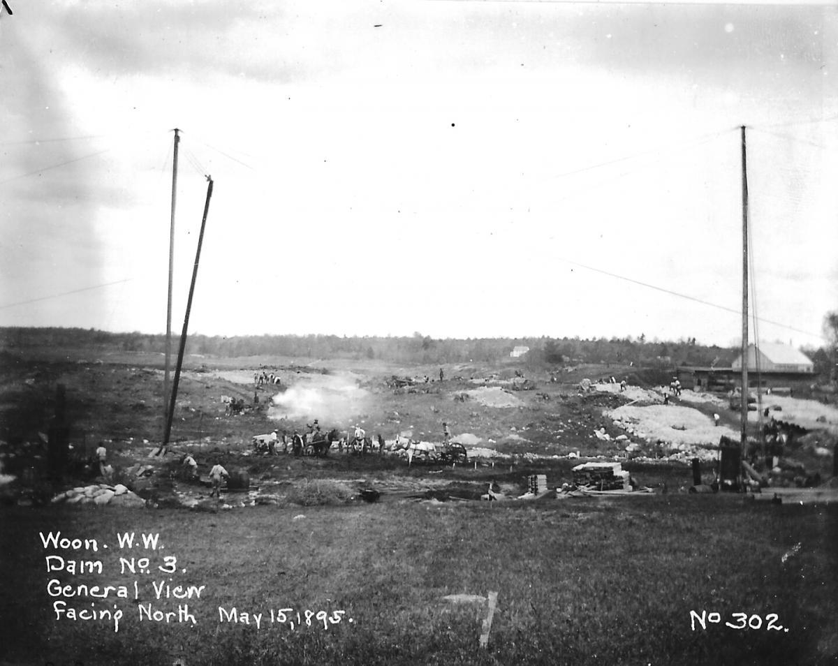 May 15, 1895 - Facing North