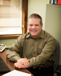 Personnel Director Mark Ferguson